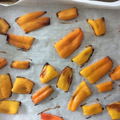 Roasted Mini Sweet Peppers